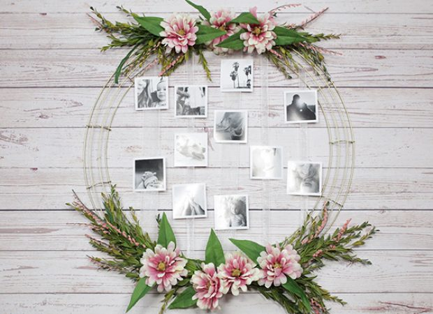Joann Fabrics – Stop Motion Photo Wreath
